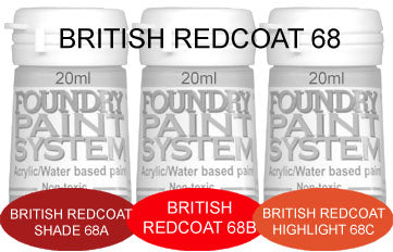 COL068 - British Redcoat