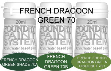 COL070 - French Dragoon Green