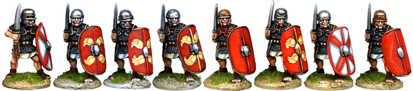 CR024 - Gallic Legionaries Advancing with Gladius