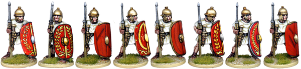 CR031 - Unarmoured Legionaries at the Ready, No Crest