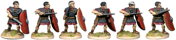CR055 - Veteran Legionary Characters Attacking with Gladius