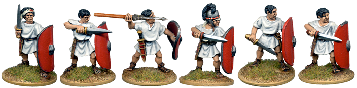 CR056 - Unarmoured Legionary Characters