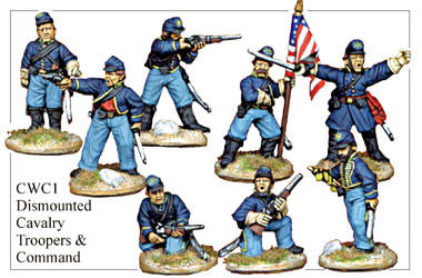 CWC001 Dismounted Cavalry Command