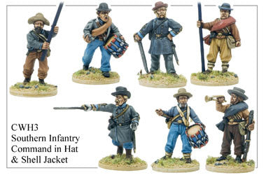 CWH003 Infantry in Hats and Shell Jackets Southern Command 1