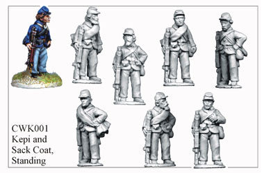 CWK001 Infantry in Kepi and Sack Coat