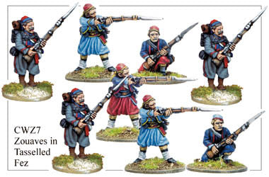CWZ007 Zouaves in Tasseled Fez