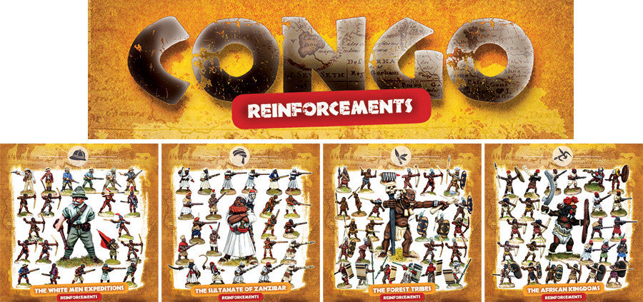 CONGO Bundle 4 - REINFORCEMENT BOX SETS 6, 7, 8 and 9 (10% off and free shipping)