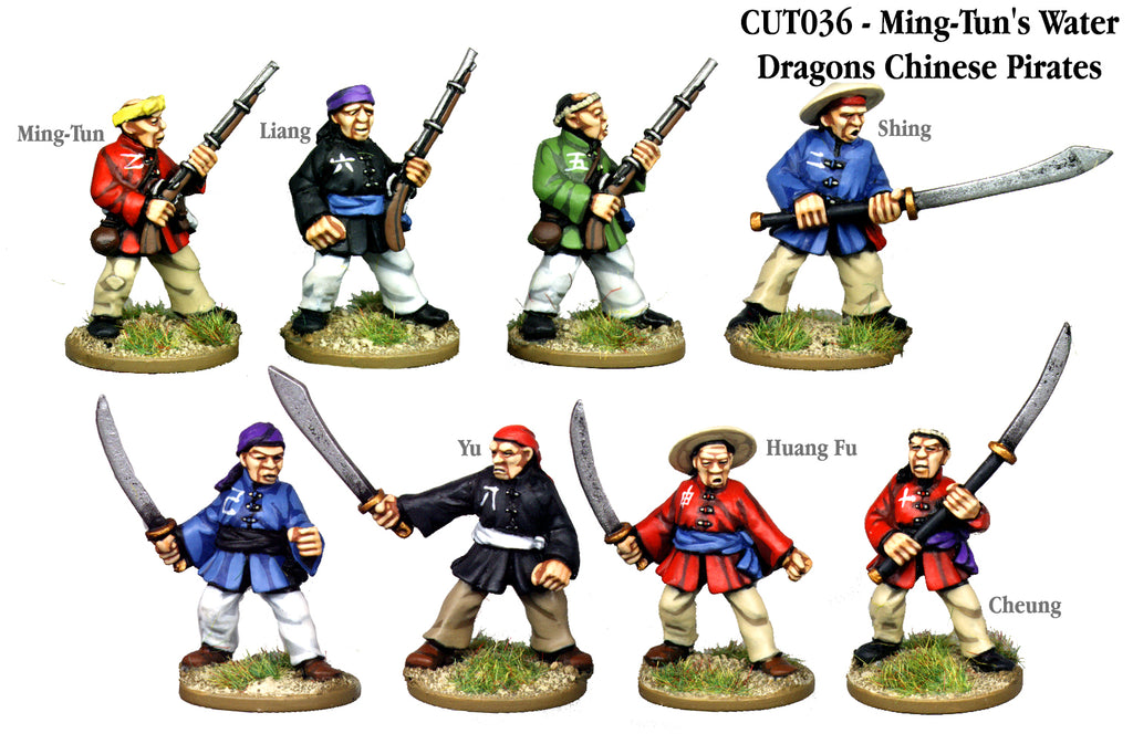 CUT036 - Ming-Tun's Water Dragons Chinese Pirates