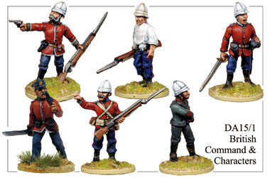 DA151 British Command and Characters