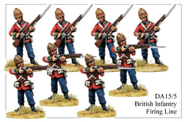 DA155 British Infantry Firing Line