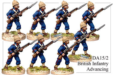 DA152 British Infantry Advancing