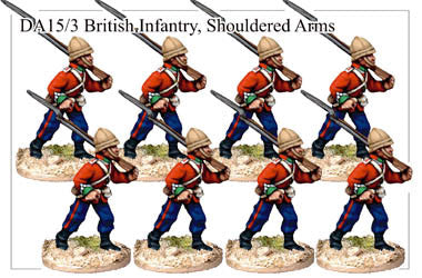 DA153 British Infantry Marching