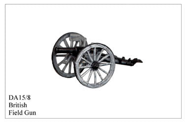 DA158 British 9pdr Field Gun