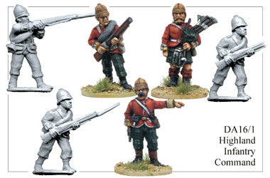 DA161 Highland Infantry Command
