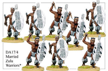 DA174 Married Zulu Warriors