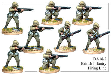 DA182 British Infantry Firing Line