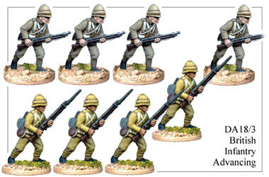 DA183 British Infantry Advancing