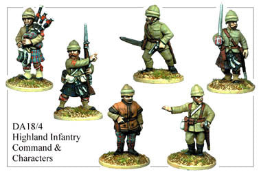 DA184 Highland Infantry Command