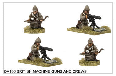 DA186 Maxim Guns and Crews