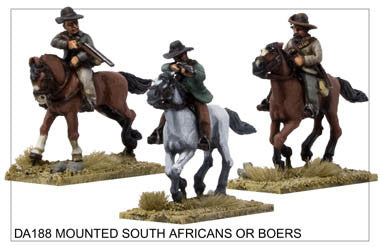 DA188 Mounted South Africans / Boers