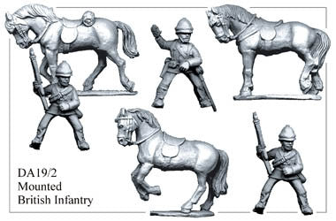 DA192 Mounted British Infantry