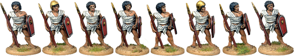 E013 - Egyptian Spearmen 1
