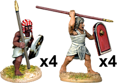 E018 - Egyptian Spearmen 6