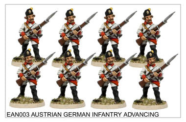 EAN003 German Infantry Advancing