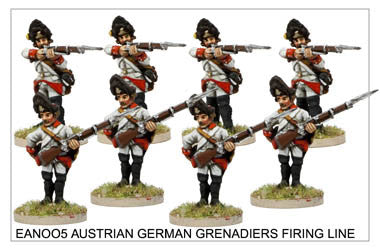 EAN005 German Grenadiers Firing Line