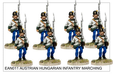 EAN011 Hungarian Infantry Marching