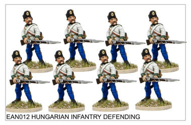 EAN012 Hungarian Infantry Defending