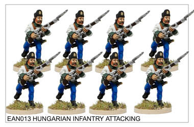 EAN013 Hungarian Infantry Attacking