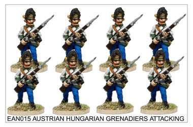 EAN015 Hungarian Grenadiers Attacking