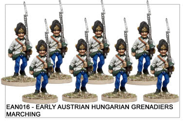 EAN016 Hungarian Grenadiers Marching