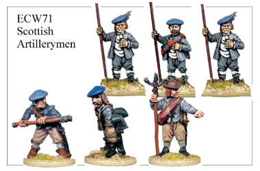 ECW071 - Scottish Artillerymen