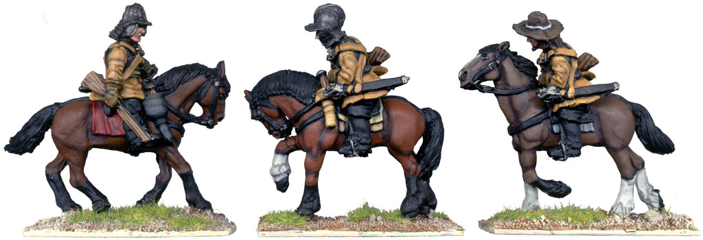 ECW017 - Cavalry Troopers With Carbines