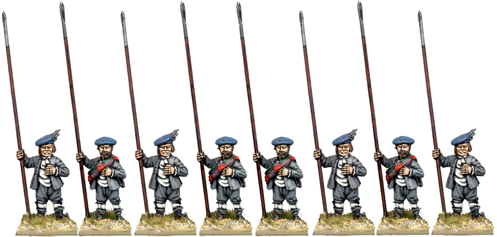 ECW025 - Lowland Pikemen At The Ready