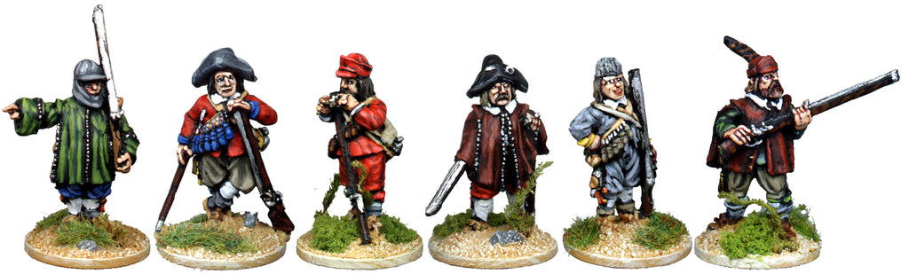 ECW041 - Musketeer Characters