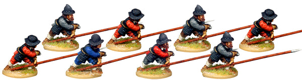 ECW043 - Pikemen Receiving Cavalry