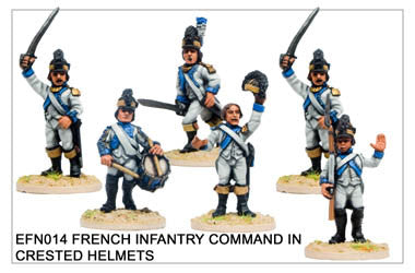 EFN014 Infantry in Crested Helmets Command