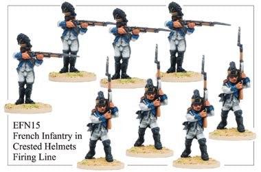 EFN015 Infantry in Crested Helmets Firing