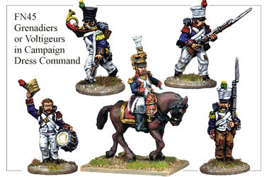 FN045 - Grenadier Or Voltigeurs In Campaign Dress Command