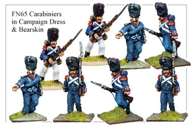 FN065 - Light Infantry Carabiniers In Campaign Dress And Bearskins