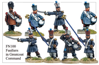 FN100 - Fusiliers In Greatcoat Command