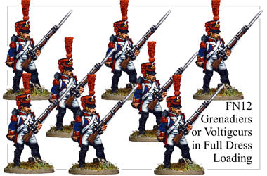 FN012 - Grenadiers Or Voltigeurs In Full Dress Loading