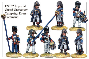 FN152 - Imperial Guard Grenadier Command In Campaign Dress