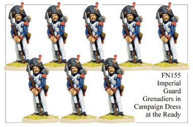 FN155 - Imperial Guard Grenadier In Campaign Dress Marching