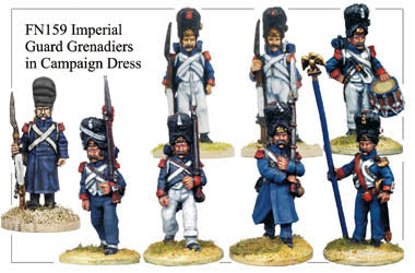 FN159 - Imperial Guard Grenadiers In Campaign Dress