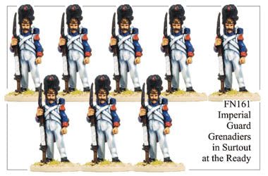 FN161 - Imperial Guard Grenadier In Campaign Dress And Surtout Standing