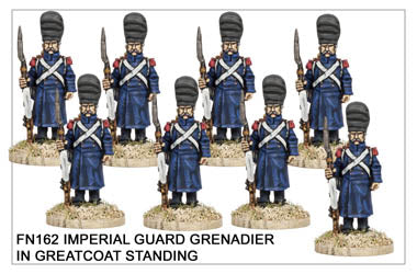 FN162 - Imperial Guard Grenadier In Greatcoat Standing